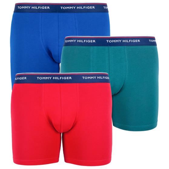 3PACK pánské boxerky Tommy Hilfiger vícebarevné (UM0UM00010 052)