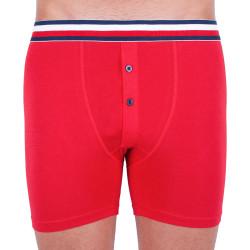 Pánské boxerky Tommy Hilfiger červené (UM0UM01393 611)