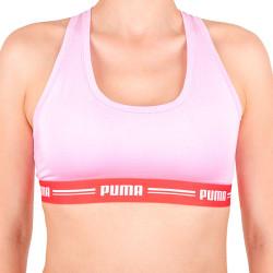 Dámská sportovní podprsenka Puma růžová (574006001 424)