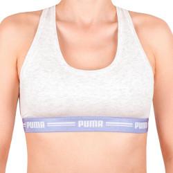 Dámská sportovní podprsenka Puma béžová (574006001 651)