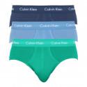 3PACK pánské slipy Calvin Klein vícebarevné (U2661G-PYY)