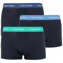 3PACK pánské boxerky Calvin Klein černé (U2664G-VVK)