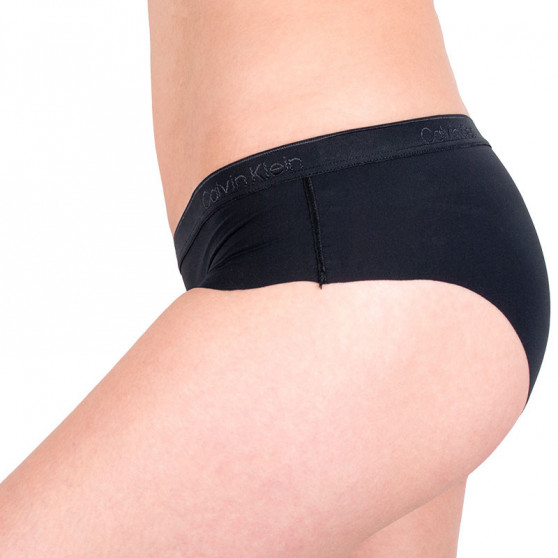 2PACK dámské kalhotky Calvin Klein černé (QD3696E-001)
