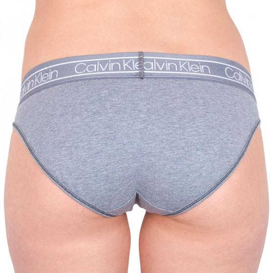Dámské kalhotky Calvin Klein šedé (QF5235E-5WY)