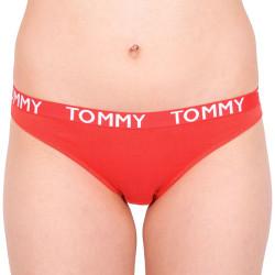 Dámské kalhotky Tommy Hilfiger červené (UW0UW00720 615)