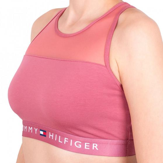 Dámská podprsenka Tommy Hilfiger růžová (UW0UW00012 503)