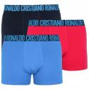 3PACK pánské boxerky CR7 vícebarevné (8100-49-653)