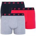3PACK pánské boxerky CR7 vícebarevné (8100-49-651)