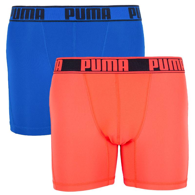 5ef6d6f025 2PACK pánské boxerky Puma sportovní vícebarevné (671017001 505) L
