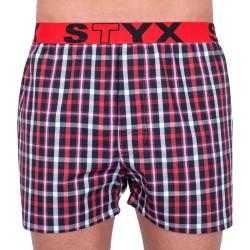 Pánské trenky Styx sportovní guma vícebarevné (B731)