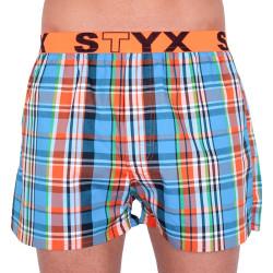 Pánské trenky Styx sportovní guma vícebarevné (B734)