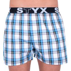 Pánské trenky Styx sportovní guma vícebarevné (B736)