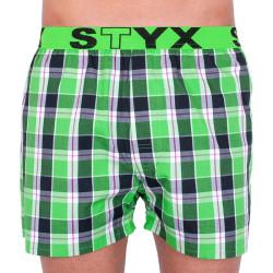 Pánské trenky Styx sportovní guma vícebarevné (B738)