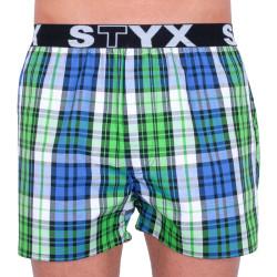 Pánské trenky Styx sportovní guma vícebarevné (B739)