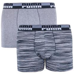 2PACK pánské boxerky Puma vícebarevné (591003001 235)