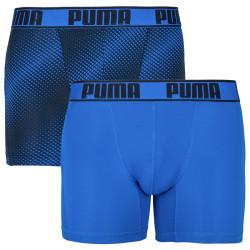 2PACK pánské boxerky Puma sportovní modré (591010001 056)