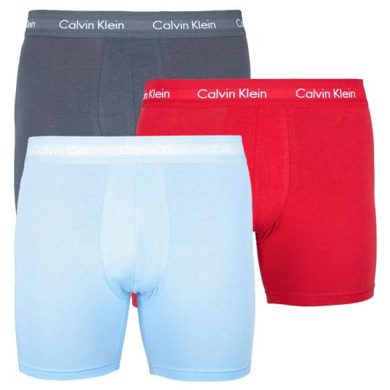 3PACK pánské boxerky Calvin Klein vícebarevné (NB1770A-LKZ)