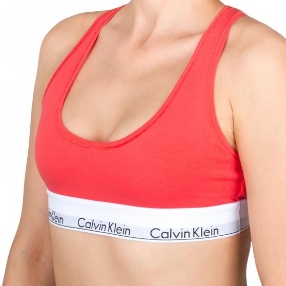 Dámská podprsenka Calvin Klein oranžová (F3785E-LFX)