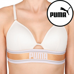 Dámská sportovní podprsenka Puma krémová (594004001 101)