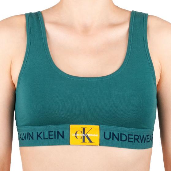 Dámská podprsenka Calvin Klein zelená (QF4918E-ZAY)