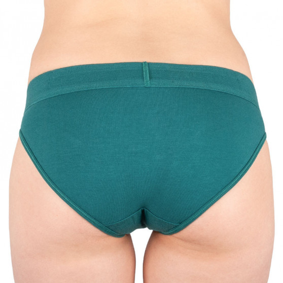 Dámské kalhotky Calvin Klein zelené (QF4921E-ZAY)