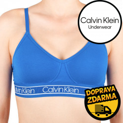 Dámská podprsenka Calvin Klein modrá (QF5232E-TSZ)