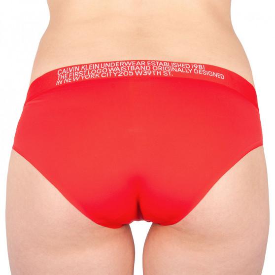 Dámské kalhotky Calvin Klein červené (QF5183E-DFU)