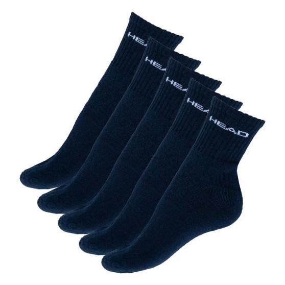 5PACK ponožky HEAD tmavě modré (781503001 321)