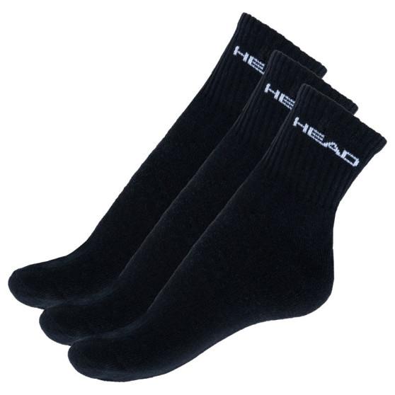 3PACK ponožky HEAD černé (771026001 200)