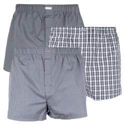 3PACK pánské trenky Calvin Klein classic fit vícebarevné (U1732A-GGM)