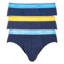 3PACK pánské slipy Tommy Hilfiger tmavě modré (1U87903766 507)