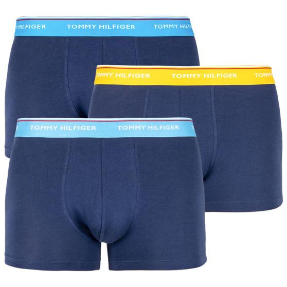 3PACK pánské boxerky Tommy Hilfiger tmavě modré (1U87903842 507)