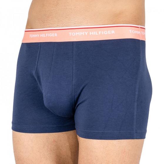 3PACK pánské boxerky Tommy Hilfiger tmavě modré (1U87903842 042)