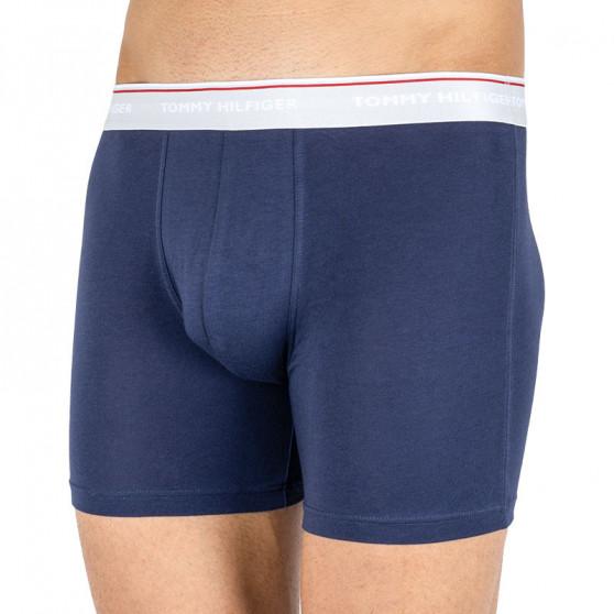 3PACK pánské boxerky Tommy Hilfiger tmavě modré (UM0UM00010 897)
