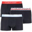 3PACK pánské boxerky Calvin Klein černé (NB1753A-001)