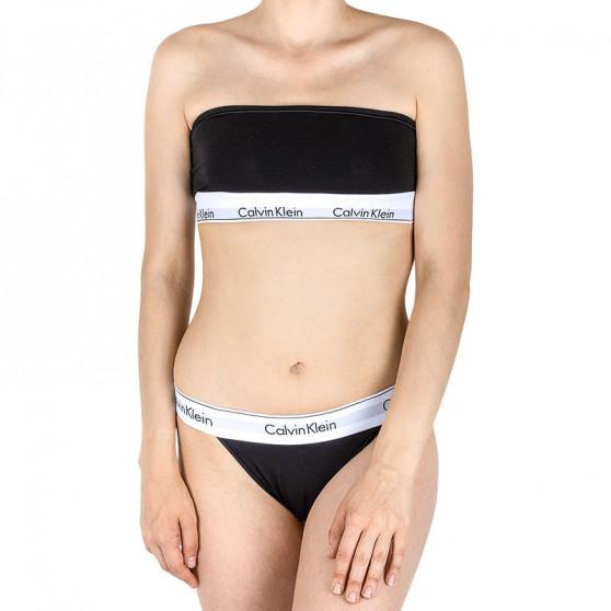 Dámské kalhotky Calvin Klein černé (QF4977A-001)