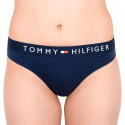 Dámská tanga Tommy Hilfiger tmavě modrá (UW0UW01555 416)