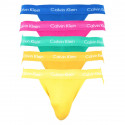 5PACK pánské jocksy Calvin Klein vícebarevné (NB2041A-JHB)