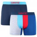 2PACK pánské boxerky Levis vícebarevné (995012001 056)