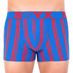 Pánské boxerky Styx sportovní guma vícebarevné (G766)