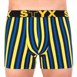 Pánské boxerky Styx long sportovní guma vícebarevné (U860)