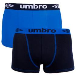 2PACK pánské boxerky Umbro vícebarevné (UM1700B)