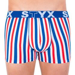 Pánské boxerky Styx sportovní guma vícebarevné (G863)