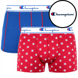 2PACK pánské boxerky Champion navy red (Y081W)