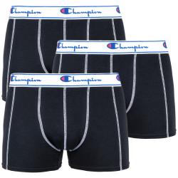 3PACK pánské boxerky Champion black (Y081T)