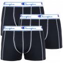 3PACK pánské boxerky Champion černé (Y081T)
