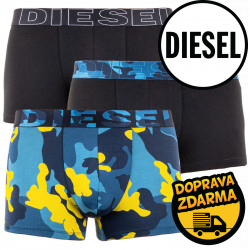 3PACK pánské boxerky Diesel vícebarevné (00ST3V-0PAVB-E4797)
