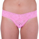 Dámská tanga Victoria's Secret růžová (ST 11133202 CC 1GGU)