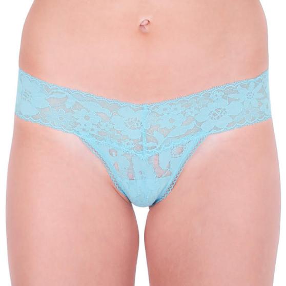 Dámská tanga Victoria's Secret modrá (ST 11119282 CC 21M2)