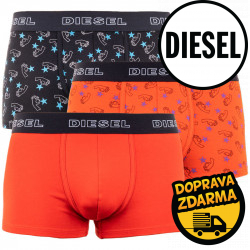 3PACK pánské boxerky Diesel vícebarevné (00ST3V-0TAVW-E4816)